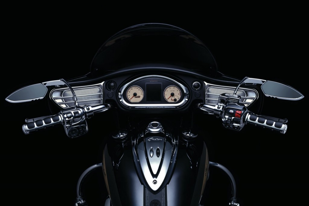 Indian Chieftain's inner fairing, these easy to install speaker grills