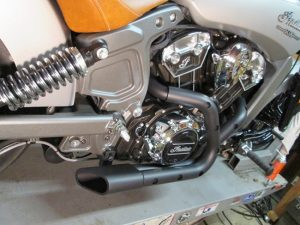 Indian Only Scout Exhaust
