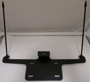 black fh550 flag holder