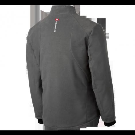 Gerbing Heated Jacket Cold Weather Riding Grey Fleece