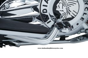 heel shift lever arm indian chrome
