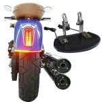 INDIAN SCOUT SLIMLINE UNDER-FENDER LED TURN SIGNALS AND TAILLIGHT