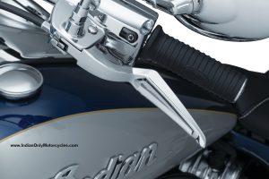 indian motorcycle levers black or chrome phantom design