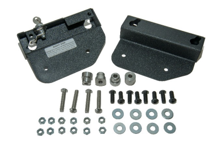 Easy Brackets Quick-Release Saddlebag Mounting Kit for Indian Scout and Scout-Sixty with OEM Detachable Backrest