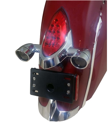 Led Turn Signals With Lenses Indian Motorcycles Chrome