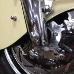 axle cap push in indian motorcycle front axle cover