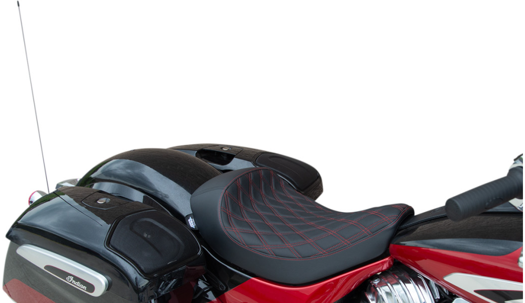 SOLO DRAG SEAT for Indian Chieftain Chief Roadmaster Springfield