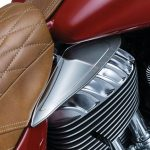 Saddle Shield Heat Deflectors Indian
