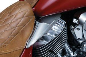 Saddle Shield Heat Deflectors Indian