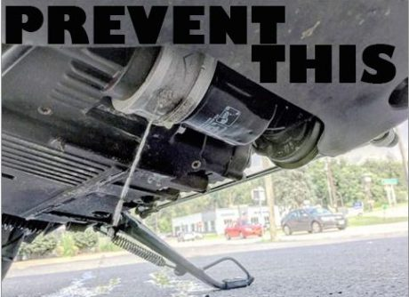 Scout Debris Shield Oil Filter Cover