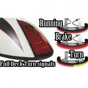 scout rear led low profile run brake turn