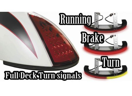 scout rear led low profile run brake turn